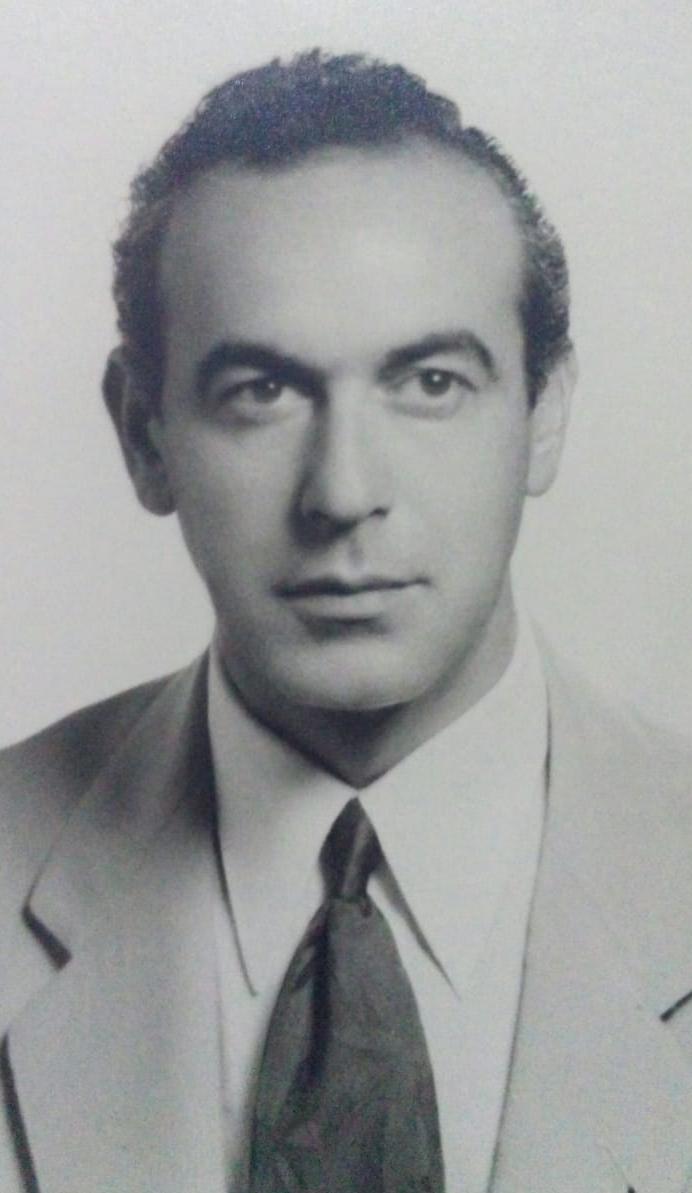 Retrato de mi tío abuelo Alberto Laureano Martinez