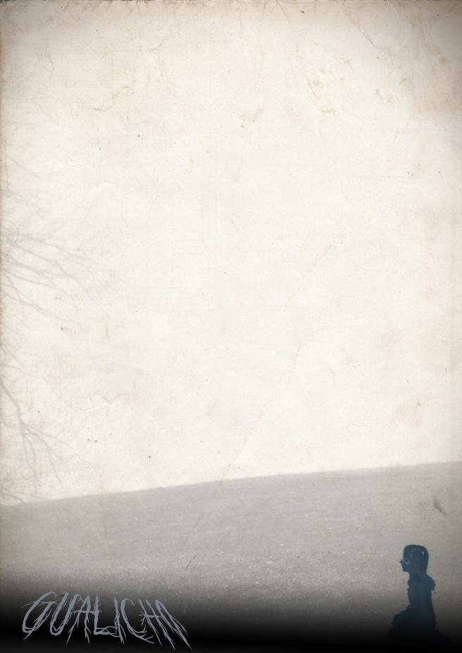 Ilustración para fondo PressBook Gualicho Ventana Sur. Diseño de Gabriel Quiroga