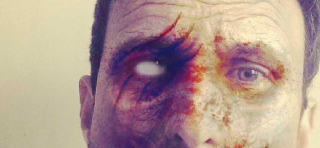 Adrián Gastón Fares autor de Suerte al Zombi convertido en Zombie